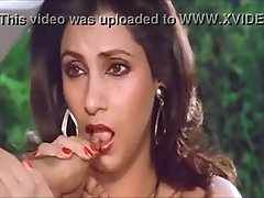 Indian actress Dimple Kapadia sucks a male thumb in POV